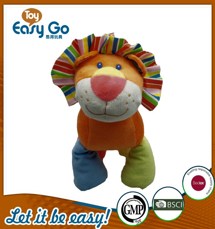 Customized color lion plush toys