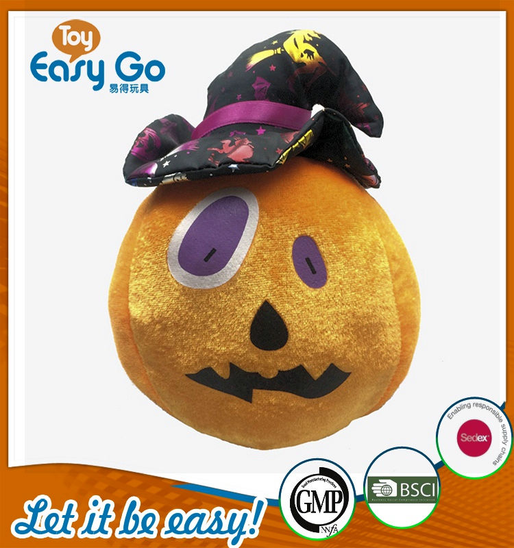 Customized cute holloween festival pumpkin toys