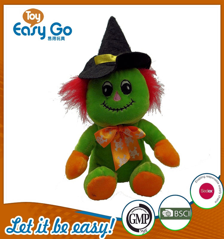 Customized Bsci GMP lovely holloween festival clown toys