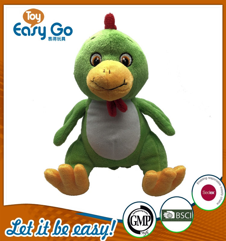 Customized Sedex Bsci lovely soft chicken toys