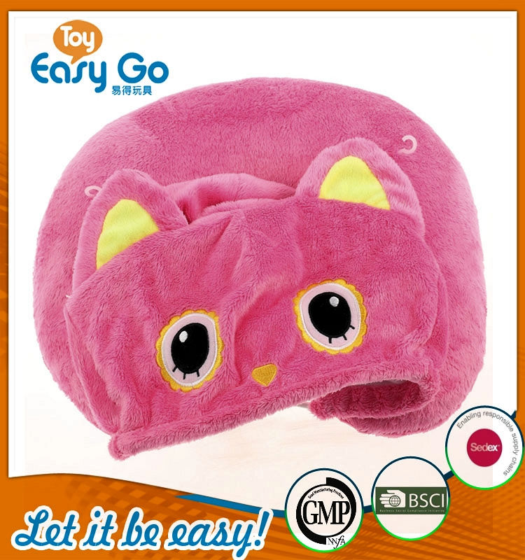 Oeko sedex pink of the lovely pillow plush toys