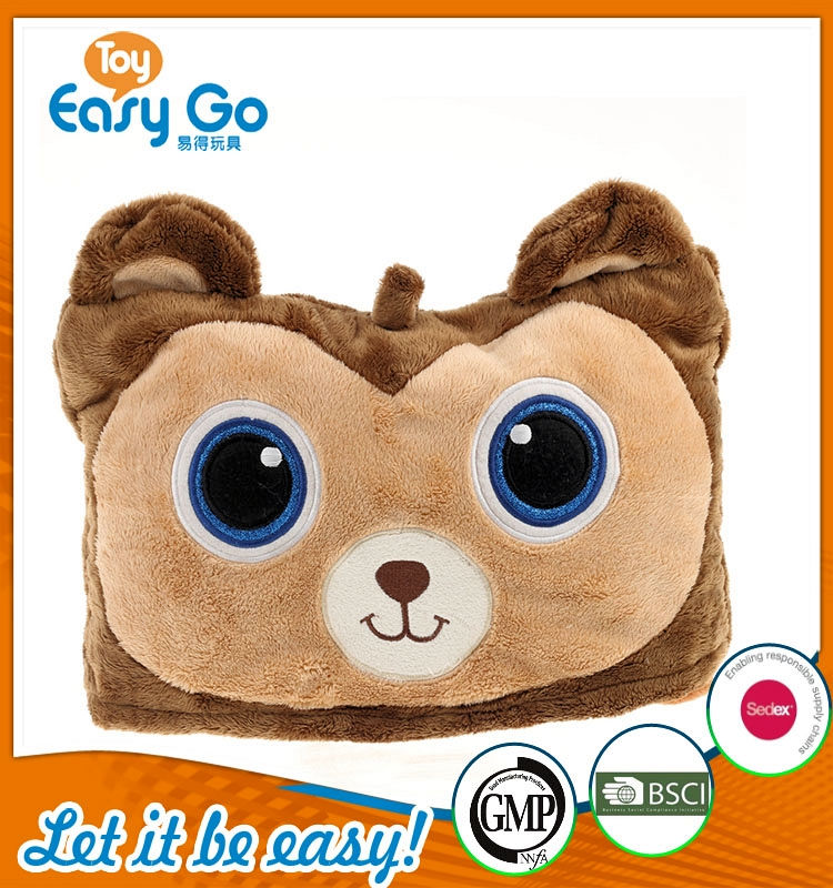 ICTI 2016 wholesale custom colorful plush cushion toys