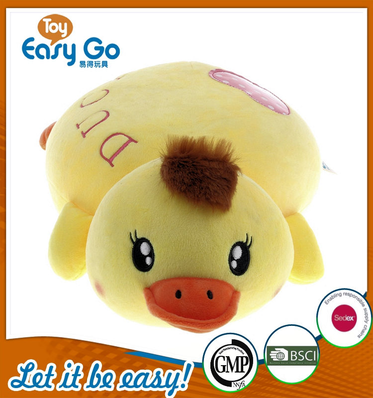 custom plush toy duck toy yellow duck cute duck animal cushi
