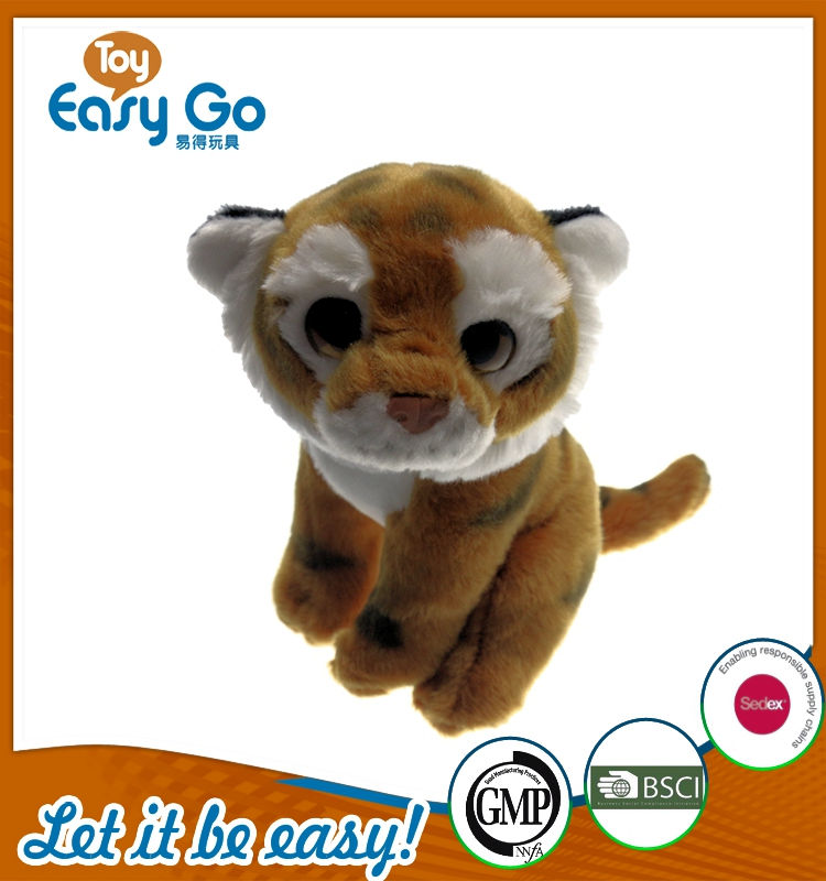 cute customized soft tiger classics simulation animal simula