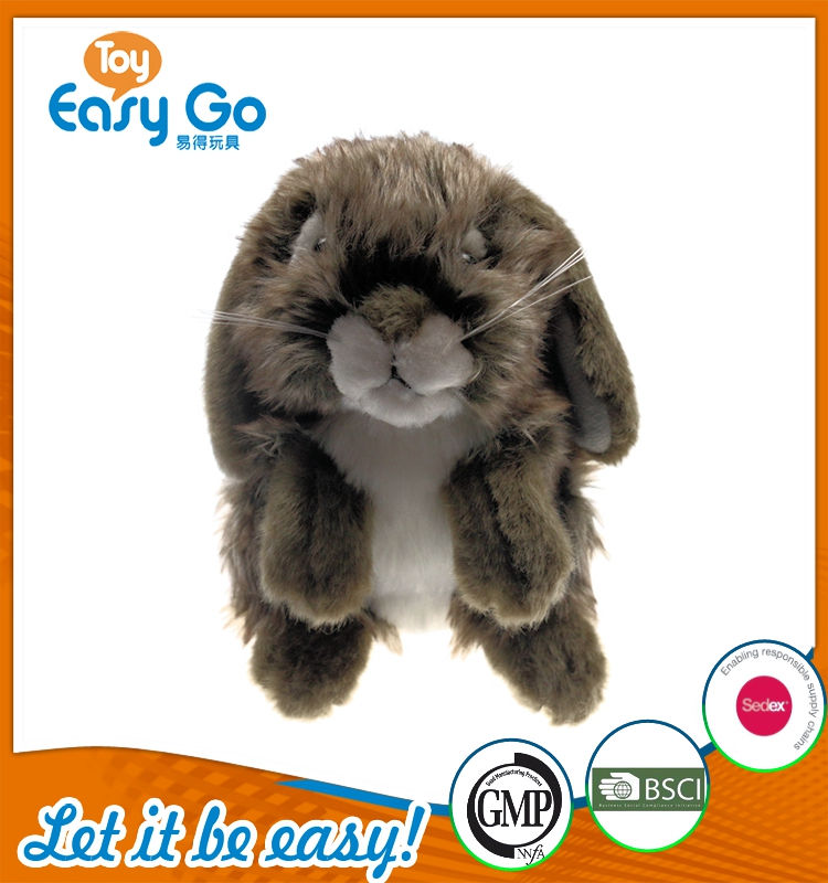 EN71 softlong ears rabbit plush toys plush simulation animal