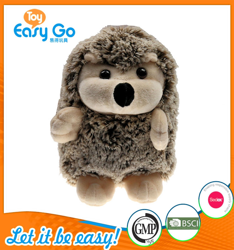 Customized baby plush hedgehog