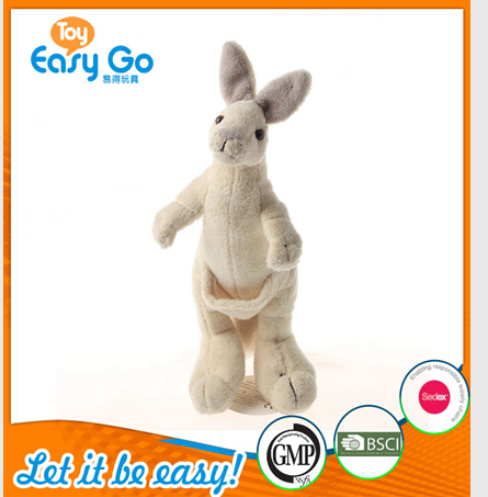 Customized GMP 2016 vivid kangaroo plush toy