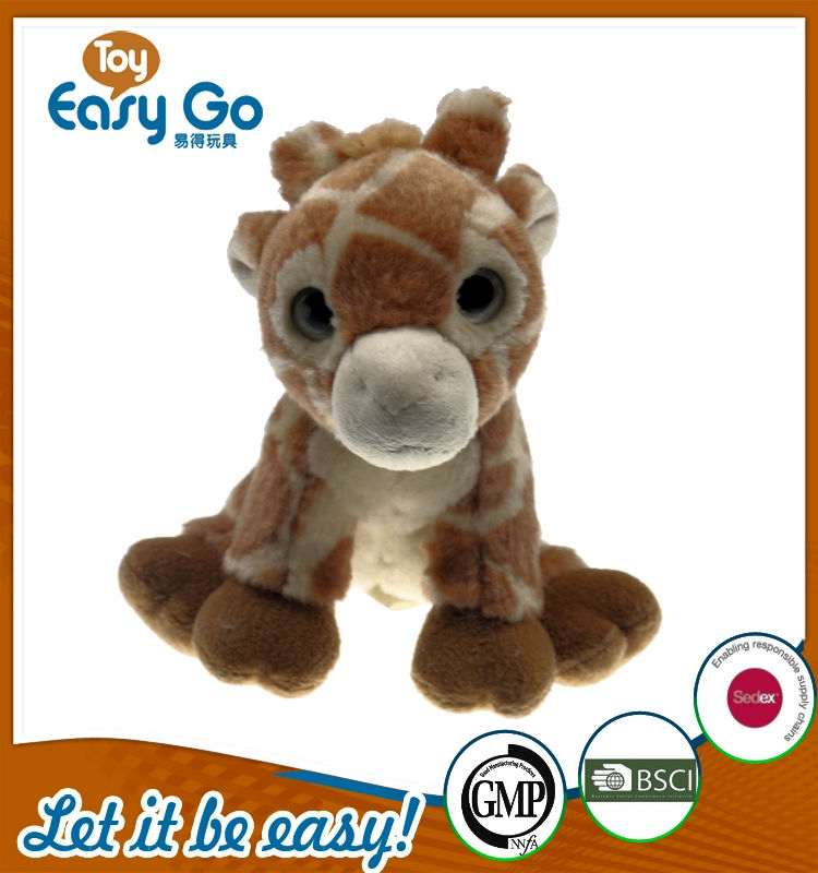Customized cute soft plush giraffe toys