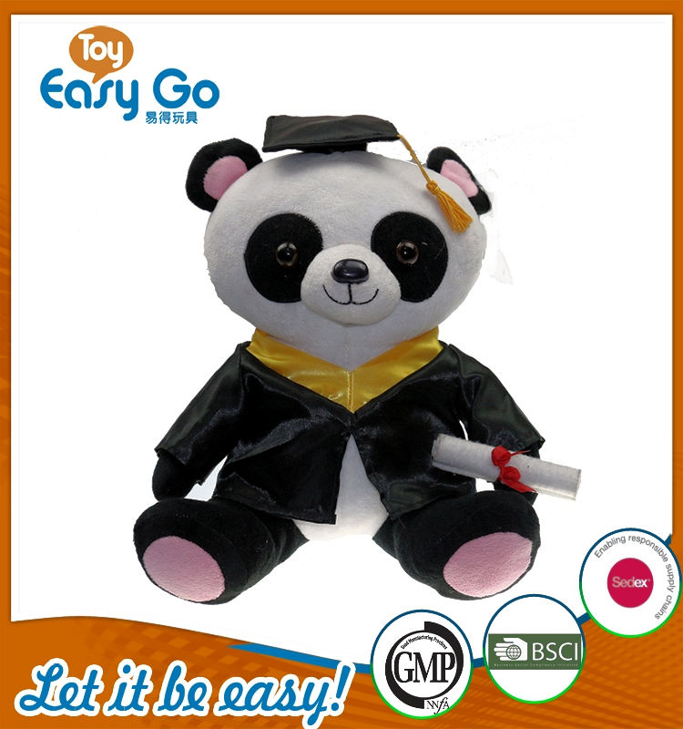 oeko high-end graduate panda plush