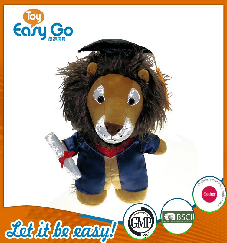 oeko high-end graduate lion plush