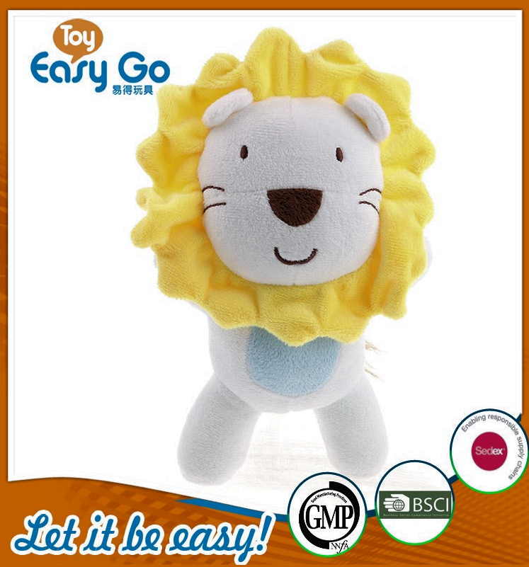 customized white standing lion