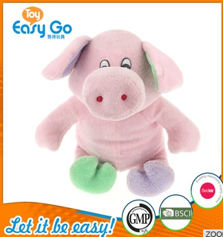 pink pig toys with a big nose