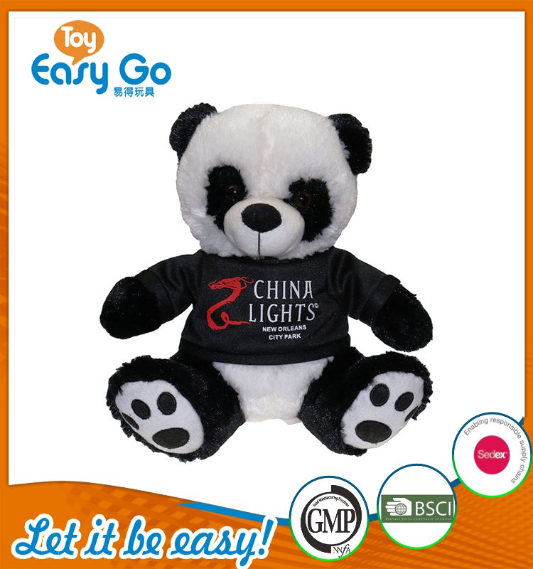 oeko customized giant panda plush toy