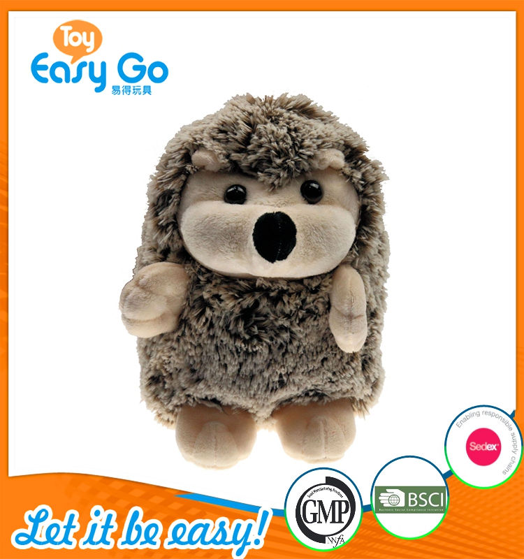 oeko sedex customized new design plush hedgehog
