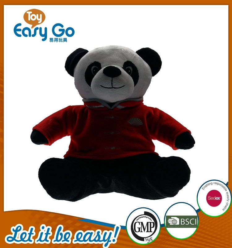 oeko nestle customized new design chinese culture plush pand