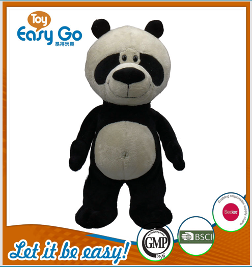 Customized panda plush panda bear stuffed toys panda bear fo