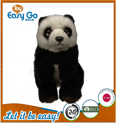 Customized cute panda plush stuffed toy