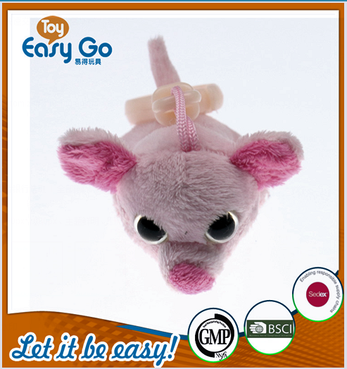 oeko Nestle Customized pink pig animal keychain