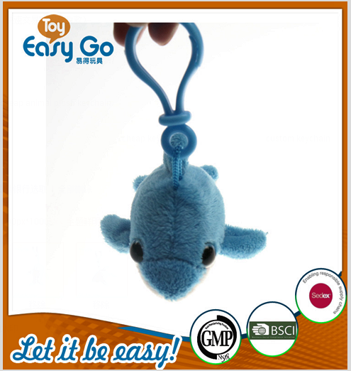 oeko custom cheap animal plush keychain