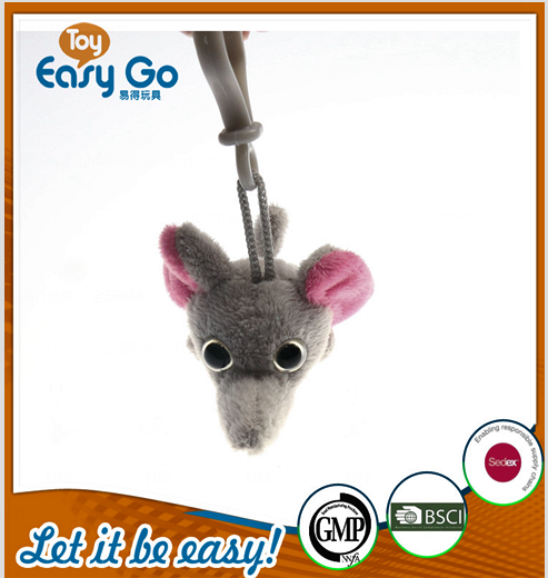 oeko sedex customized elephant animal keychain