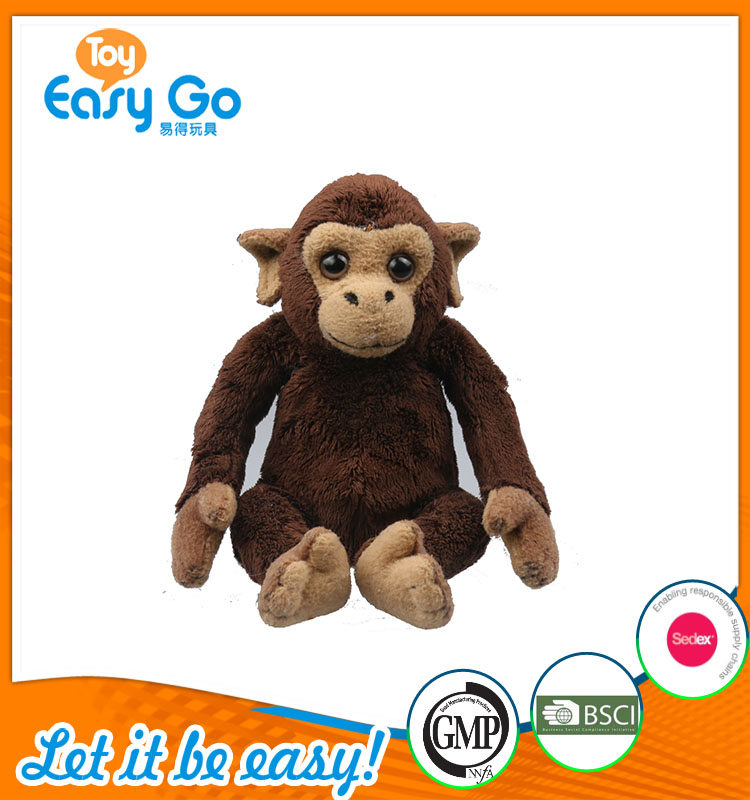 good sale high quality customized production cute brown sitt