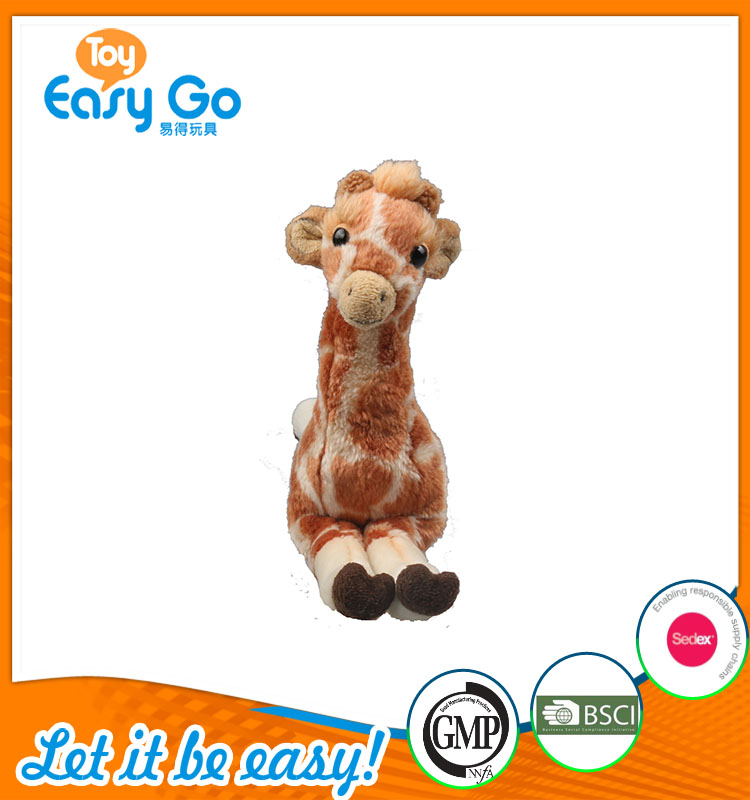 high quality customized production cute sitting light brown