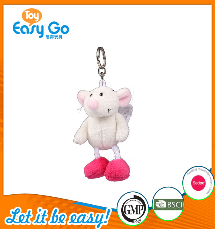 high quality customized production white and pink mouse brid