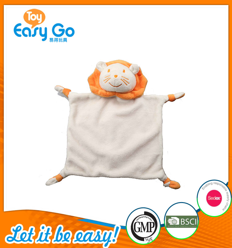 high quality customized production cute white and orange lio