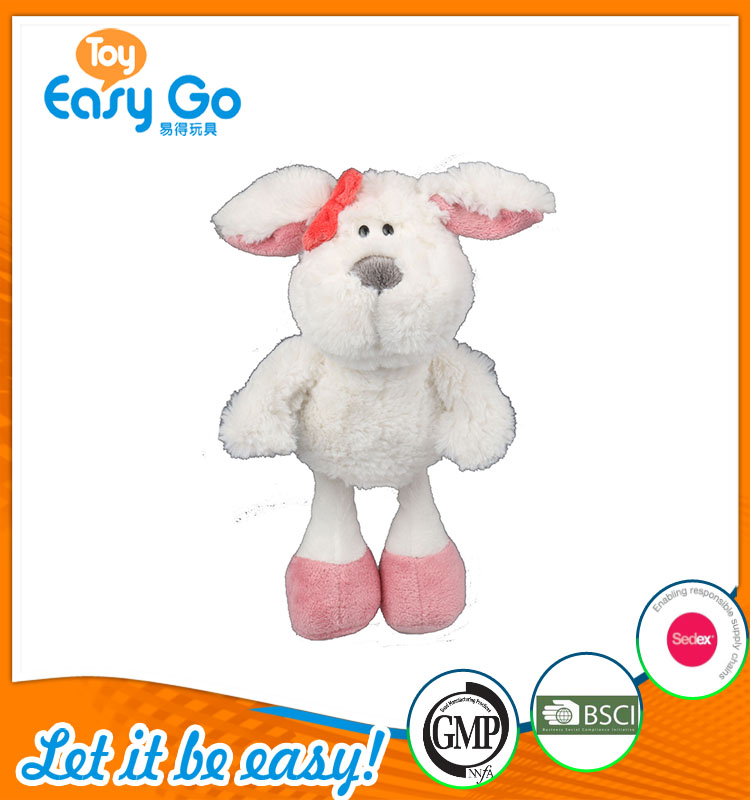 high quality customized production white and pink sheep plus