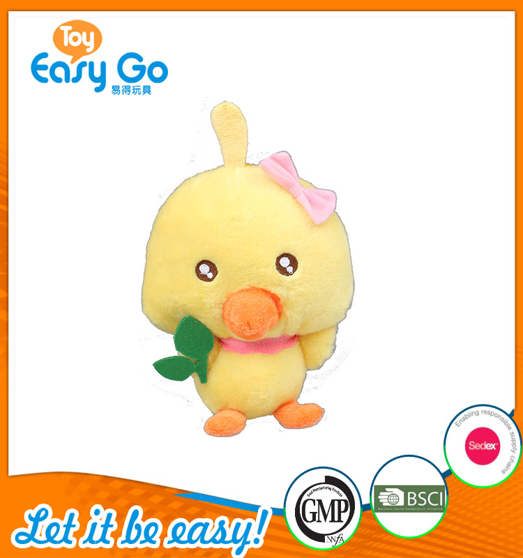 high quality customized production cute little yellow chick