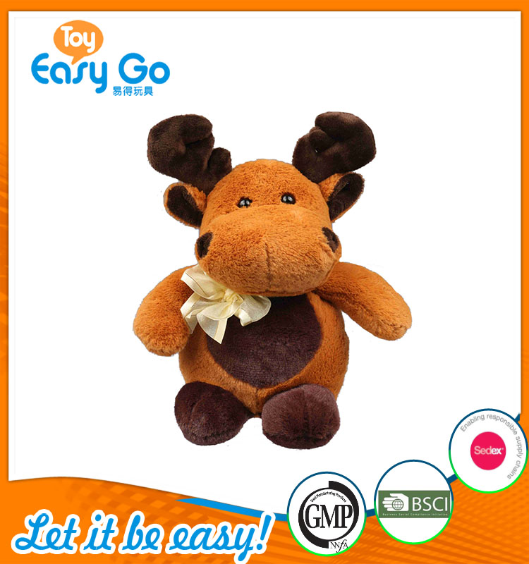 good sale high quality customized production cute brown elk