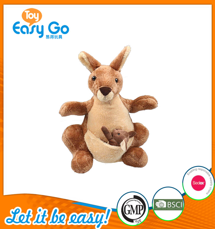 high quality customized production light brown kangaroo plus