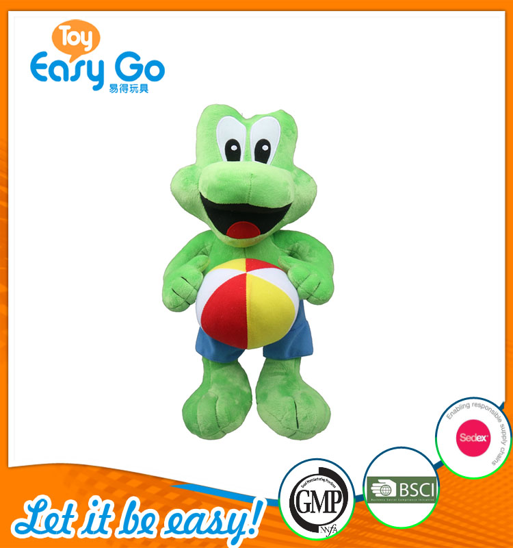 good sale high quality customized production cute green frog