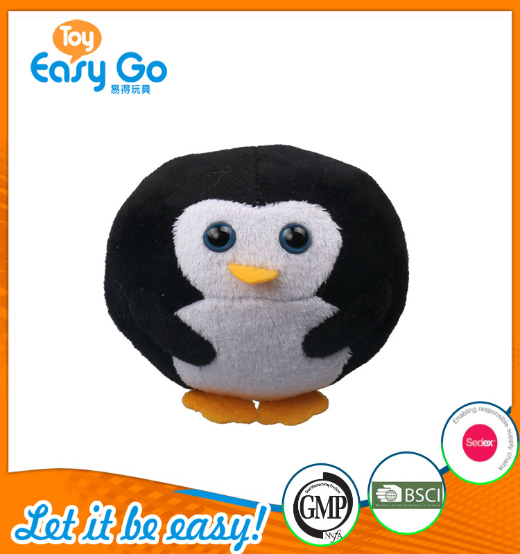 high quality customized production cute little penguin plush